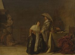 A Lady and a Cavalier | Pieter Codde | Oil Painting