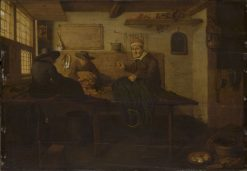 The Tailor | Quiringh van Brekelenkam | Oil Painting
