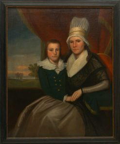 Portrait of Sara Bradley Baldwin and Her Son | Ralph Earl | Oil Painting