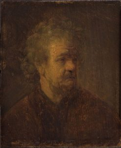 Head of an Old Man (after) | Rembrandt van Rijn | Oil Painting