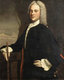 Dr. Phineas Bond (1717-1773) | Robert Feke | Oil Painting