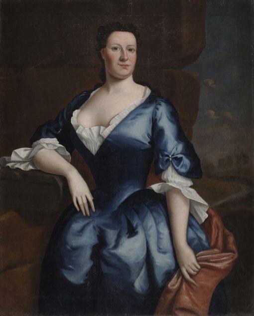 Portrait of Mrs. Tench Francis   Robert Feke   Oil Painting