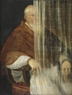 Portrait of Cardinal Filippo Archinto   Titian   Oil Painting