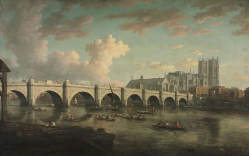 Westminster Bridge | William Marlow | Oil Painting