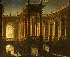 A Triumphal Bridge | Filippo Gagliardi | Oil Painting