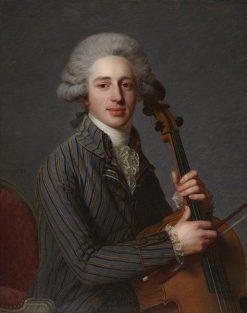 A Cellist | Antoine Vestier | Oil Painting