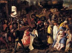 The Way to Calvary | Giovanni Cariani | Oil Painting