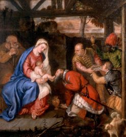 Adoration of the Magi | Titian | Oil Painting