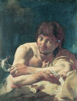 Saint John the Baptist | Giovanni Battista Piazzetta | Oil Painting