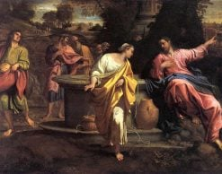 Samaritan Woman at the Well | Annibale Carracci | Oil Painting