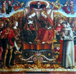 Coronation of Mary | Carlo Crivelli | Oil Painting