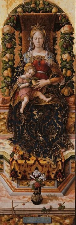 Madonna of the Candeletta | Carlo Crivelli | Oil Painting