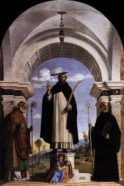 St Peter Martyr with St Nicholas of Bari