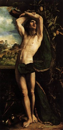 Saint Sebastian | Dosso Dossi | Oil Painting