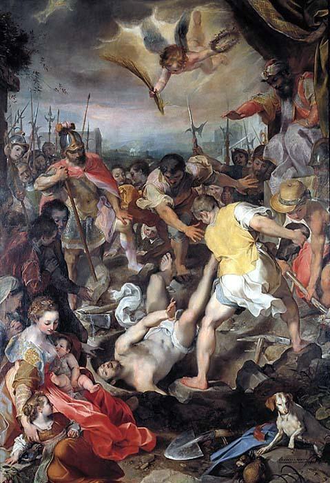 The Martyrdom of San Vitale   Federico Barocci   Oil Painting