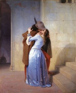 The Kiss(also known as Il Bacio) | Francesco Paolo Hayez | Oil Painting