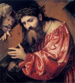 Christ Carrying the Cross | Girolamo Romanino | Oil Painting