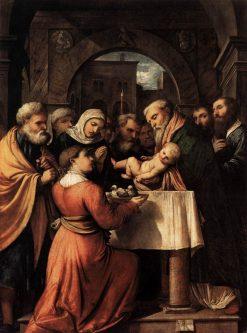 The Presentation of Jesus at the Temple | Girolamo Romanino | Oil Painting