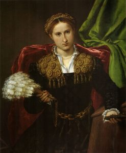 Portrait of Laura da Pola | Lorenzo Lotto | Oil Painting
