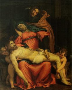 Pieta | Lorenzo Lotto | Oil Painting