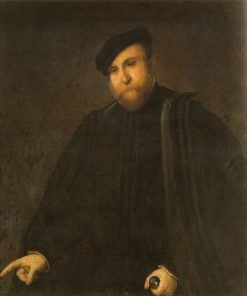 Portrait of a Man | Lorenzo Lotto | Oil Painting