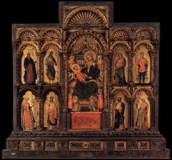 Polyptych of Santa Maria della Celestia | Lorenzo Veneziano | Oil Painting
