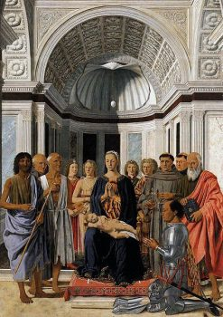 Madonna and Child with Saints(also known as Montefeltro Altarpiece) | Piero della Francesca | Oil Painting