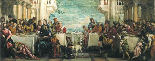 Banquet Scene - Feast at the House of Simon | Veronese | Oil Painting