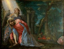 Christ in the Garden of Gethsemane(also known as Agony in the Garden) | Veronese | Oil Painting