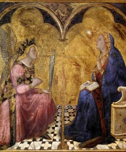 Annunciation | Ambrogio Lorenzetti | Oil Painting