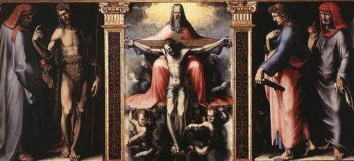 The Trinity | Domenico Beccafumi | Oil Painting