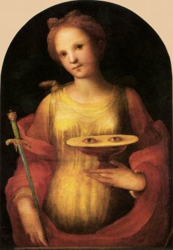 Saint Lucy | Domenico Beccafumi | Oil Painting