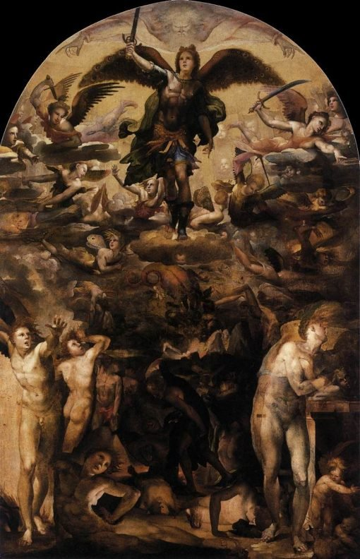 The Fall of the Rebel Angels | Domenico Beccafumi | Oil Painting