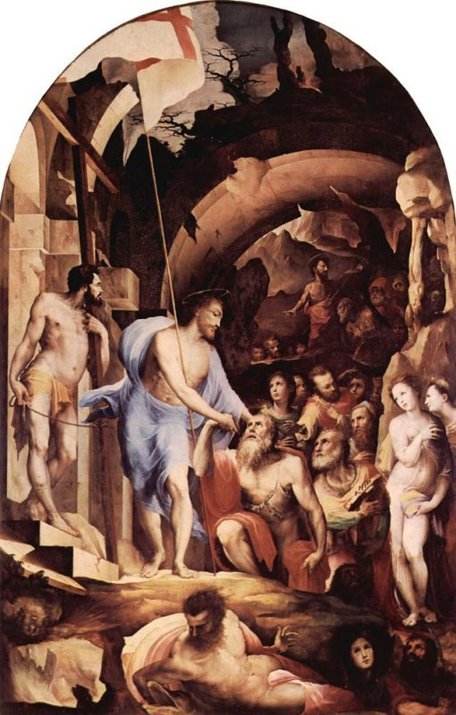 The Descent of Christ in Limbo   Domenico Beccafumi   Oil Painting