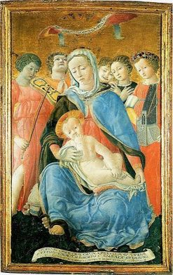 Madonna of Humility | Domenico di Bartolo | Oil Painting