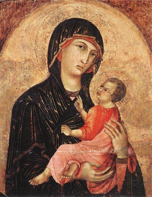 Madonna and Child | Duccio di Buoninsegna | Oil Painting