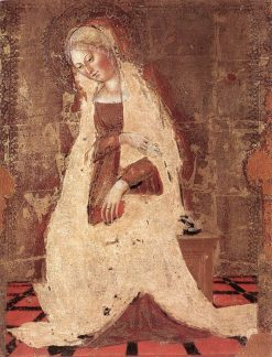 Madonna Annunciate | Francesco di Giorgio Martini | Oil Painting