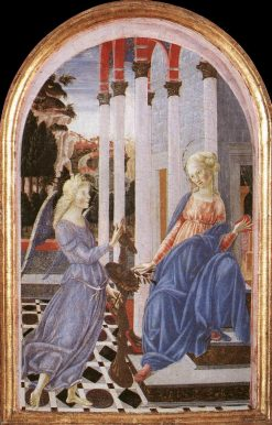 Annunciation | Francesco di Giorgio Martini | Oil Painting