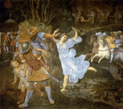 Flight of Aeneas from Troy | Girolamo Genga | Oil Painting