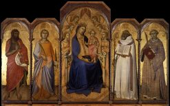 Virgin and Child with Saints | Luca di TommE | Oil Painting