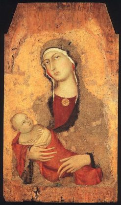 Madonna and Child | Simone Martini | Oil Painting