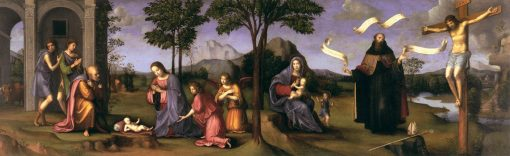 Stories from the Life of Christ | Francesco Francia | Oil Painting