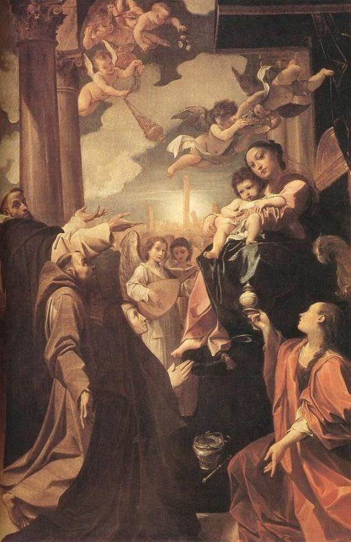 Bargellini Madonna | Lodovico Carracci | Oil Painting