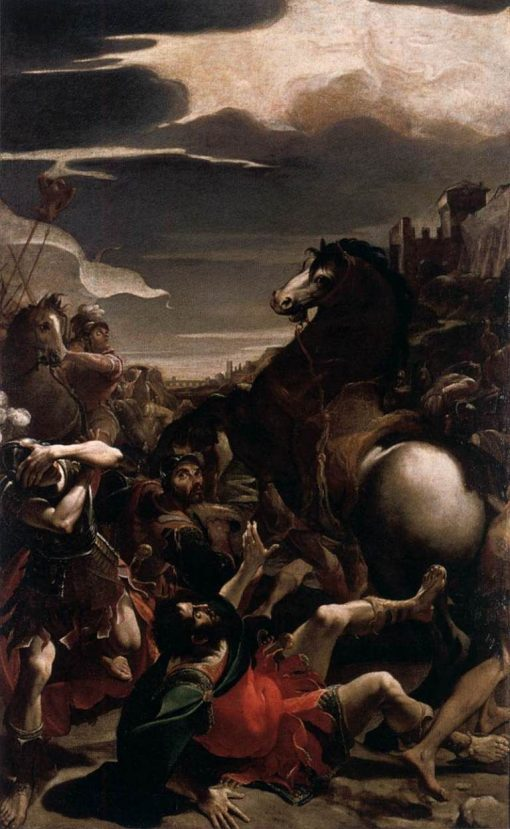 The Conversion of Saint Paul | Lodovico Carracci | Oil Painting