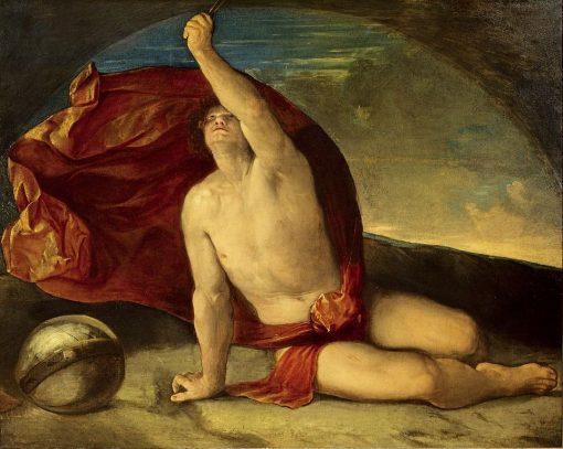 Allegory of the Compass and Globe (Sapiente con compasso e globo) | Dosso Dossi | Oil Painting