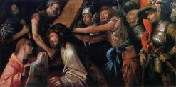 Road to Calvary with Veronica's Veil | Giovanni Cariani | Oil Painting