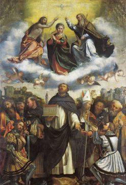 Pala di San Domenico | Girolamo Romanino | Oil Painting