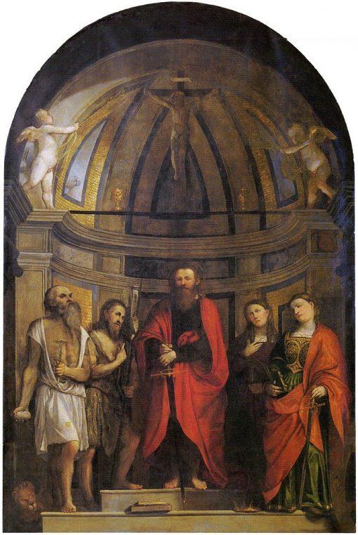 Pala Avogadro | Girolamo Romanino | Oil Painting