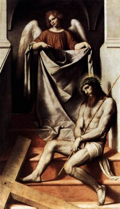 Ecce Homo   Moretto da Brescia   Oil Painting