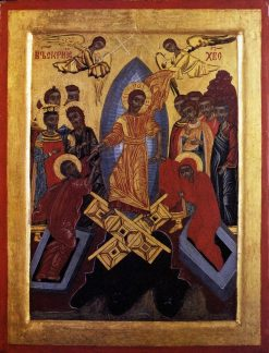The Resurrection of Christ | Byzantine School Unknown | Oil Painting